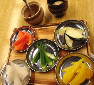 Mifune Ningyocho Vegetable plate