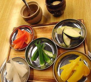 Mifune Ningyocho Vegetable plate