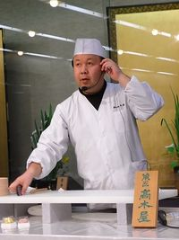 Japanese sweets making (5)
