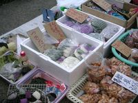 Katsuura morning market Nov 2005 3