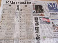 Nikkei MJ Hits 2012