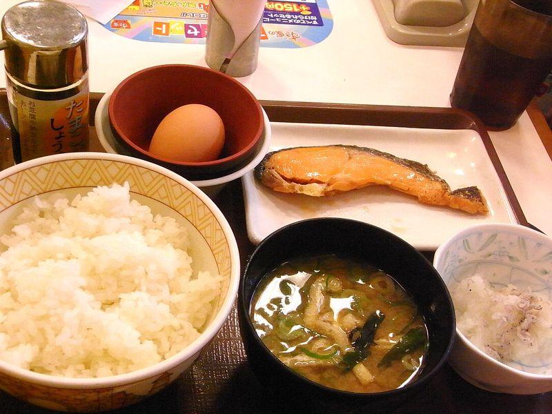 Sukiya Breakfast (2)