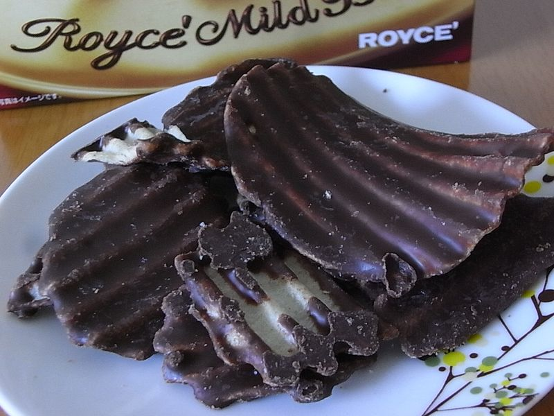 Roy's chocolate potato chips (1)